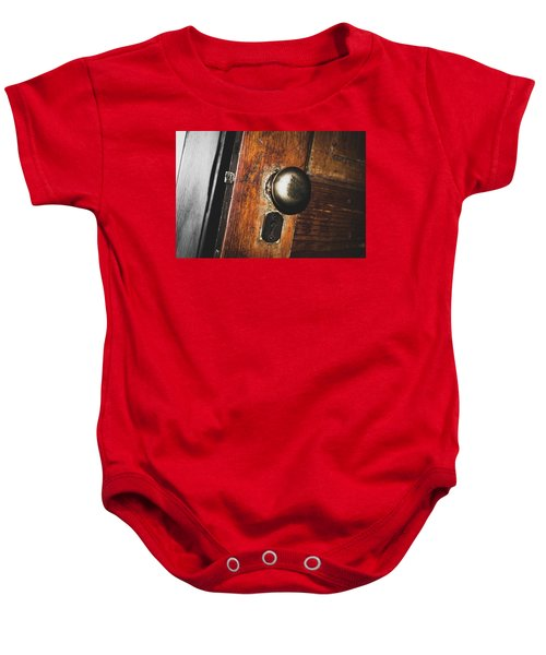 Open To The Past Baby Onesie