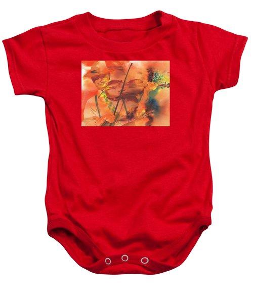 Orange Blossom Special Baby Onesie