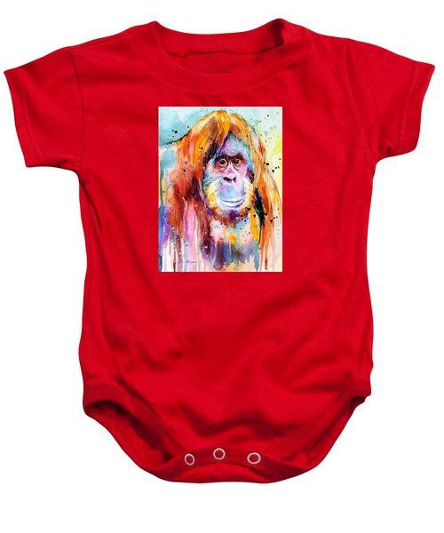 Orangutan  Baby Onesie