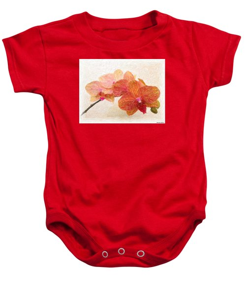 Orchid Beauty Baby Onesie