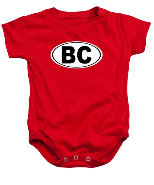 Oval Bc Boulder City Colorado Home Pride Baby Onesie