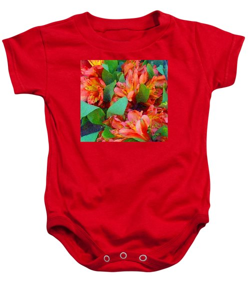 Palette Of Nature 2 Baby Onesie