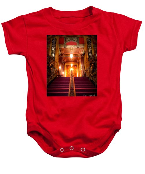 Pantages Theater's Grand Staircase Baby Onesie