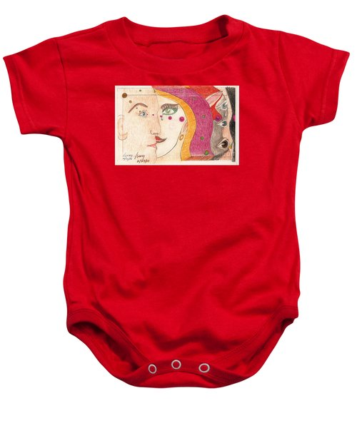 Paranoia Baby Onesie by Rod Ismay