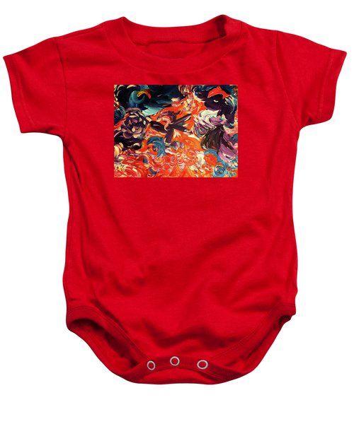 Party In A Parallel Reality Baby Onesie