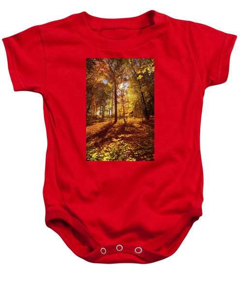 Passing Time Baby Onesie