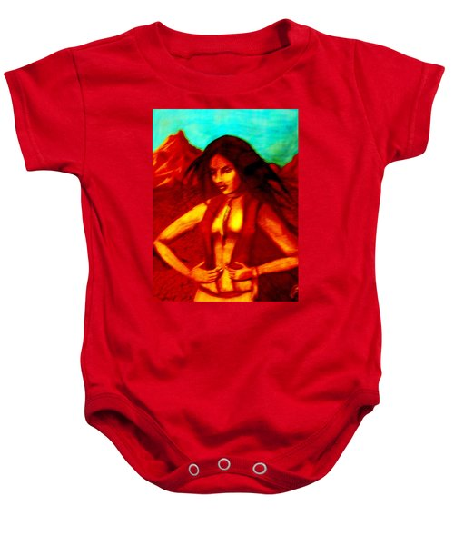 Passion In The Desert Baby Onesie