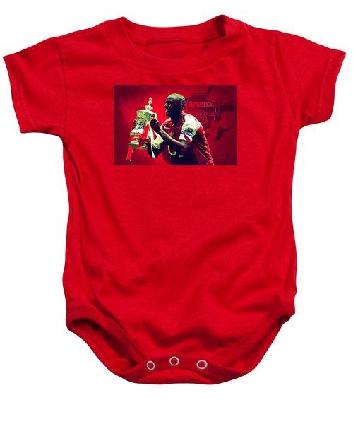 Patrick Vieira Baby Onesie by Semih Yurdabak