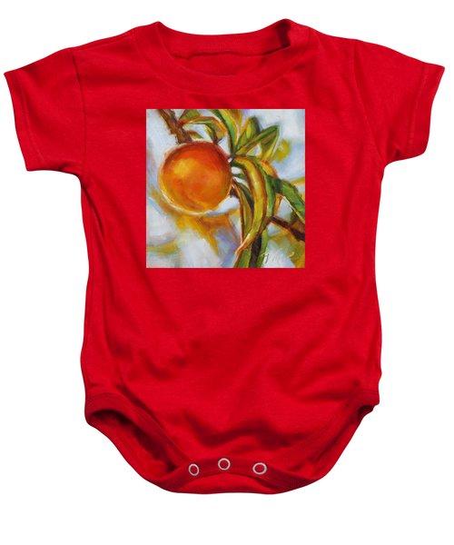 Peach Baby Onesie