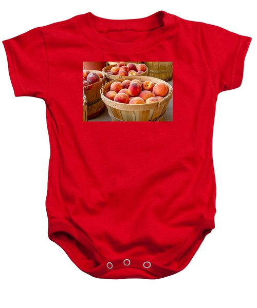 Peaches For Sale Baby Onesie