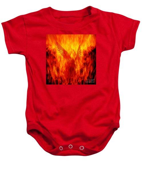 Phoenix Rising Baby Onesie