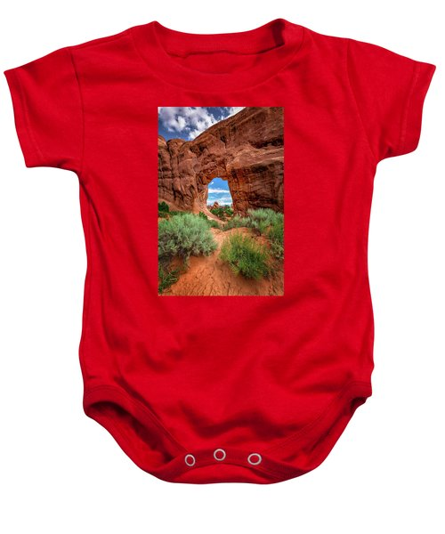 Pinetree Arch Baby Onesie