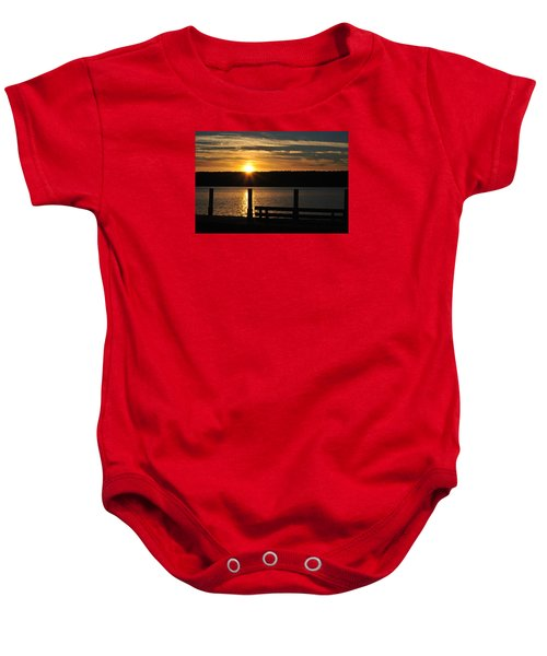 Point Of Interest Baby Onesie
