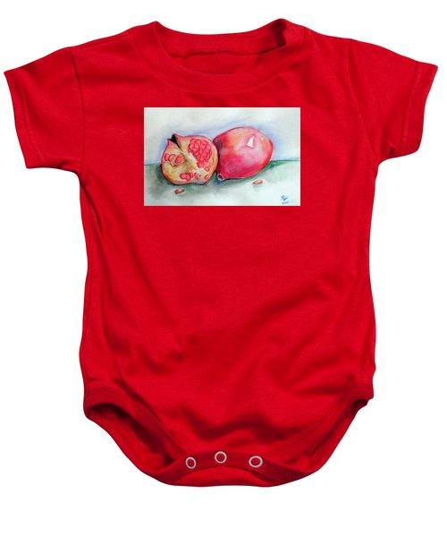 Pomegranates Baby Onesie