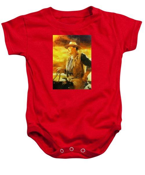 Portrait Of John Wayne Baby Onesie