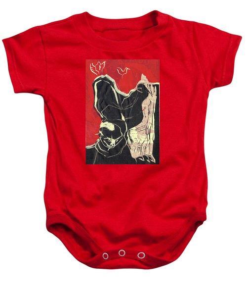 Pugmire Cd Back Sheet Baby Onesie