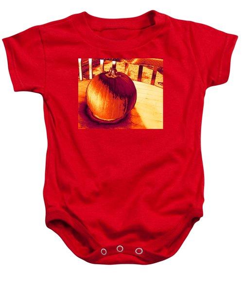Pumpkin #3 Baby Onesie