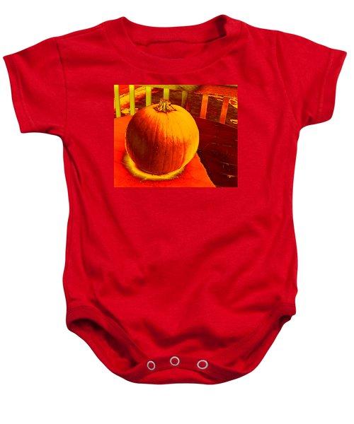 Pumpkin #4 Baby Onesie