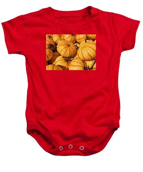 Pumpkin Harvest Baby Onesie