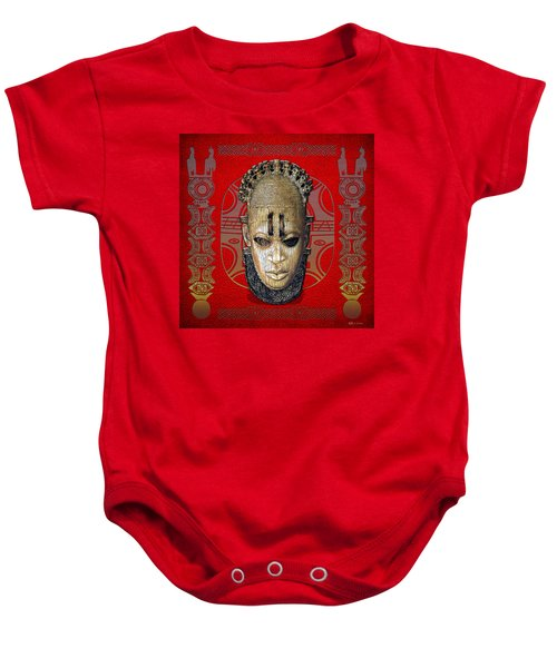 Queen Mother Idia  Baby Onesie by Serge Averbukh