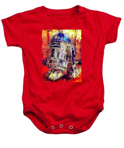 R2 - D2 Baby Onesie