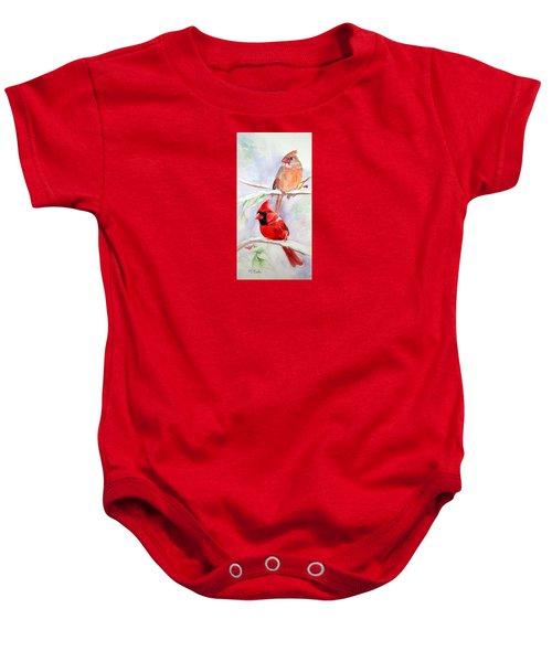 Radiance Of Cardinals Baby Onesie