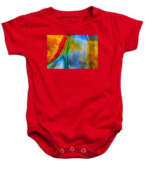 Rainbow Waterfalls Baby Onesie