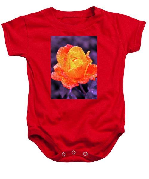 Raindrops On Roses Baby Onesie