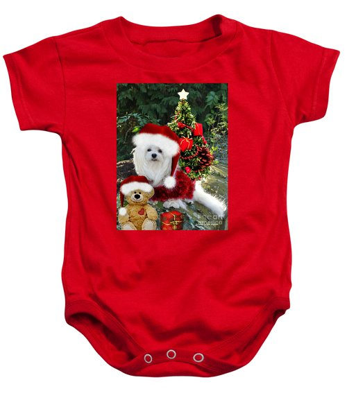 Ready For Christmas Baby Onesie