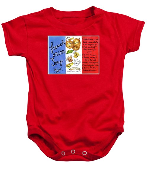 Recipe French Onion Soup Baby Onesie