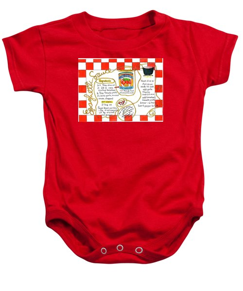 Recipe -spaghetti Sauce  Baby Onesie