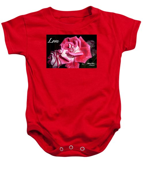 Red Beauty 3 - Love Baby Onesie