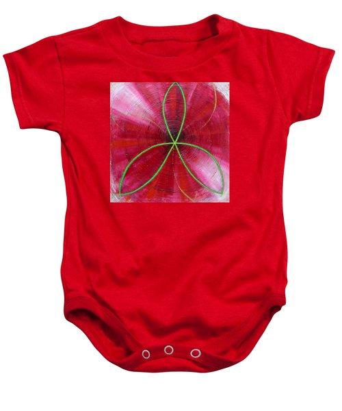 Red Chakra Baby Onesie