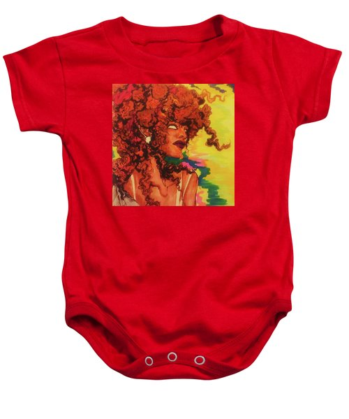 Red Dawn Baby Onesie