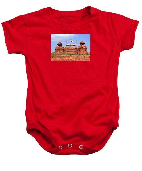 Red Fort New Delhi Baby Onesie