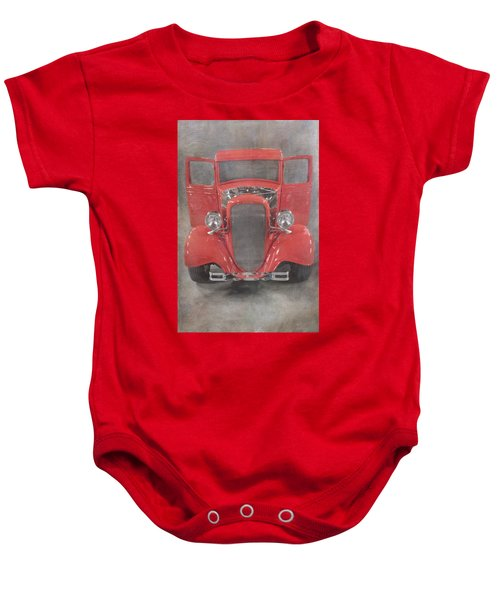 Red Hot Baby Baby Onesie
