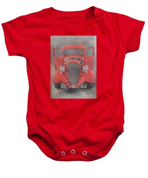 Red Hot Baby Baby Onesie