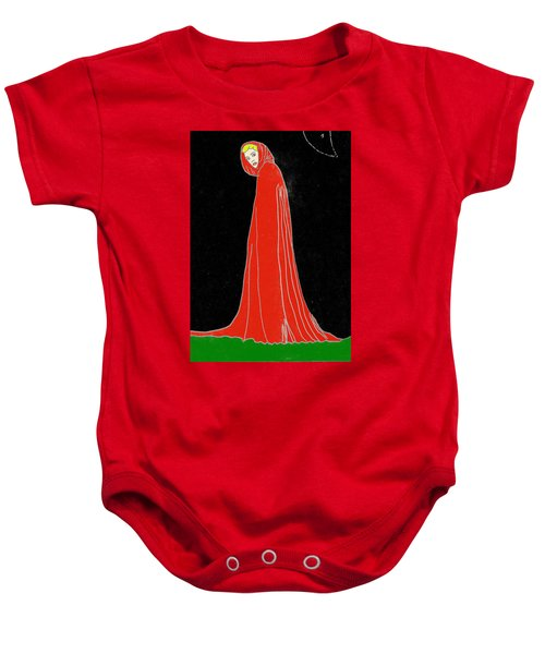 Red Riding Hood Baby Onesie