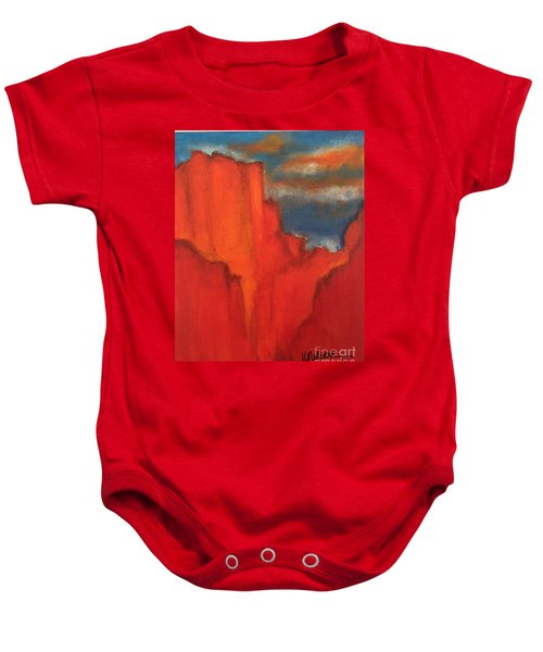 Red Rocks Baby Onesie