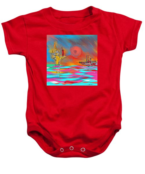 Red Sea Baby Onesie
