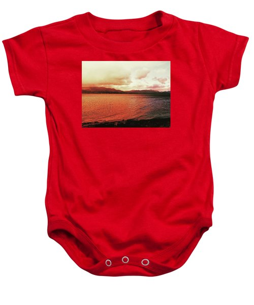 Red Sky After Storms  Baby Onesie