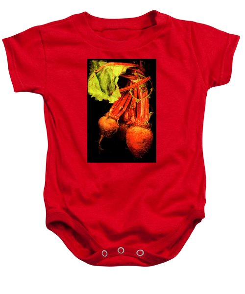 Renaissance Beetroot Baby Onesie