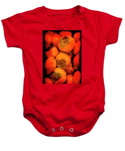 Renaissance Persimmons Baby Onesie
