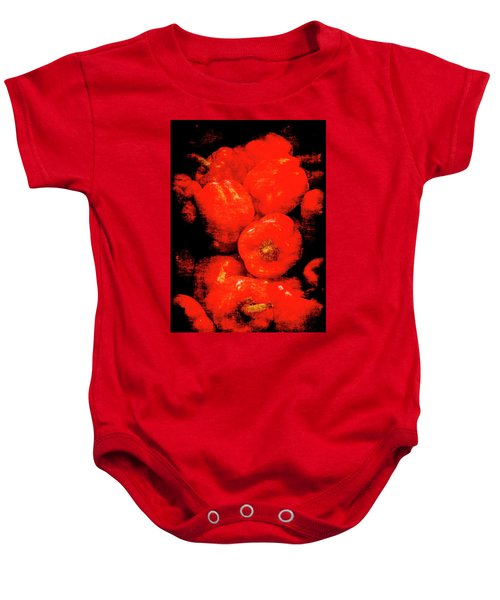 Renaissance Red Peppers Baby Onesie