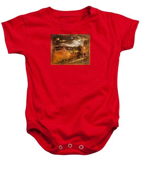 Rocky Mountain Gold 2015 Baby Onesie