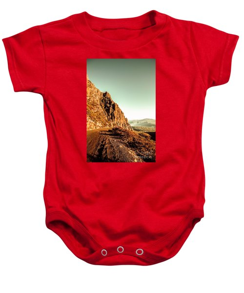 Rocky Mountain Route Baby Onesie