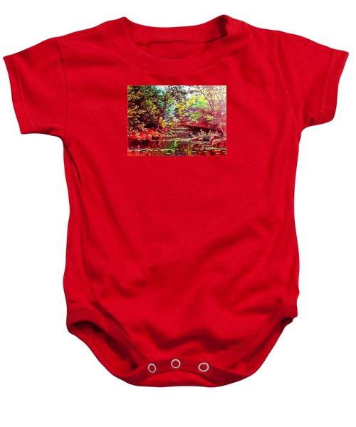 Rocky Rainbow River Baby Onesie