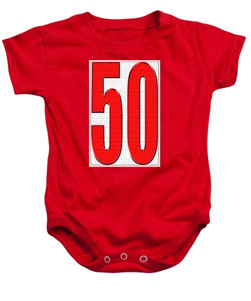 Rolling Stones 1 Baby Onesie