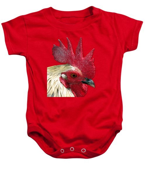 Rooster Baby Onesie by Bob Slitzan
