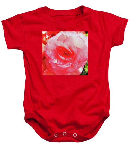 Rose After The Rain Baby Onesie